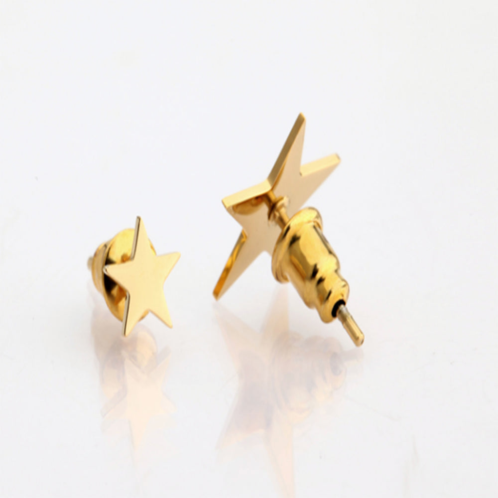Trendy Star Earrings