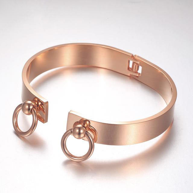 Rose Gold Ring Bracelet