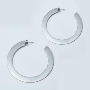 Shiny Big Hoop Earrings
