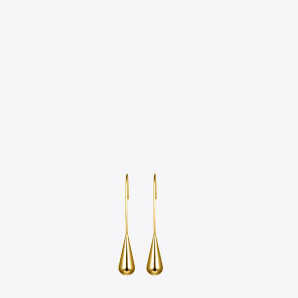 Water Drop Gold Earrings