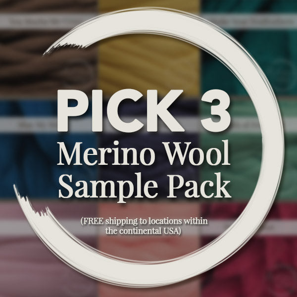 Chunky Merino Wool Sample - Pick 3