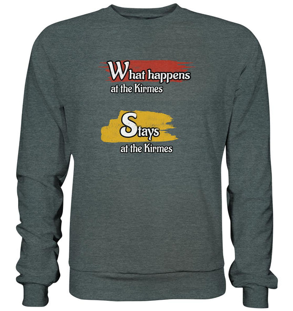 What happens at the Kirmes -  Basic Sweatshirt