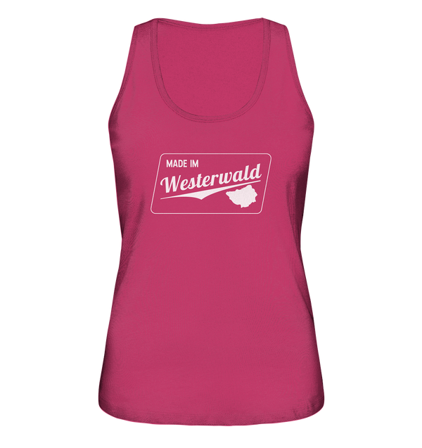Made im Westerwald - Ladies Organic Tank-Top