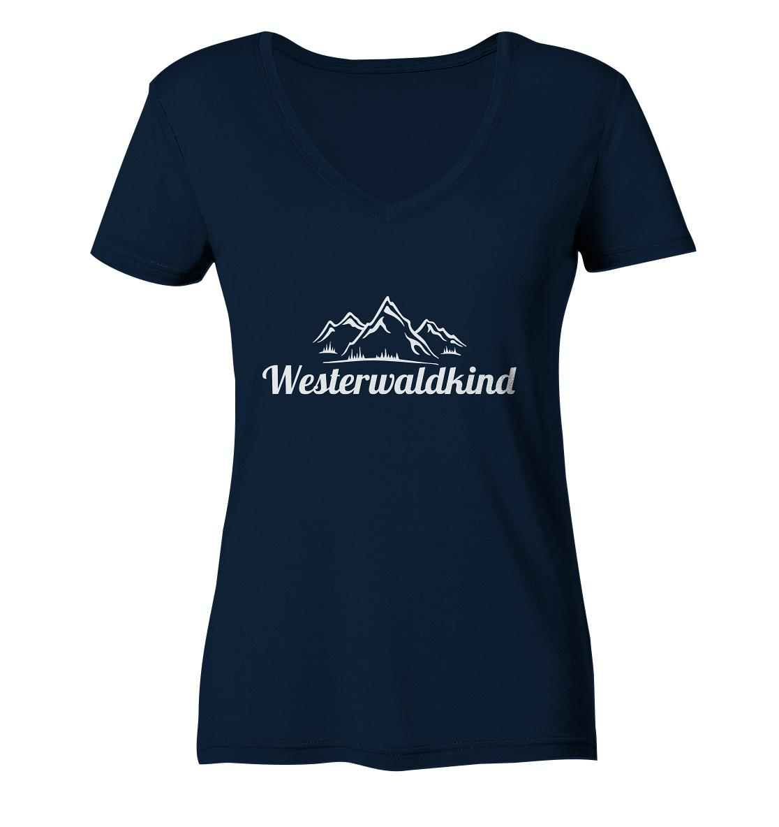 Westerwaldkind -  Ladies Organic V-Neck Shirt