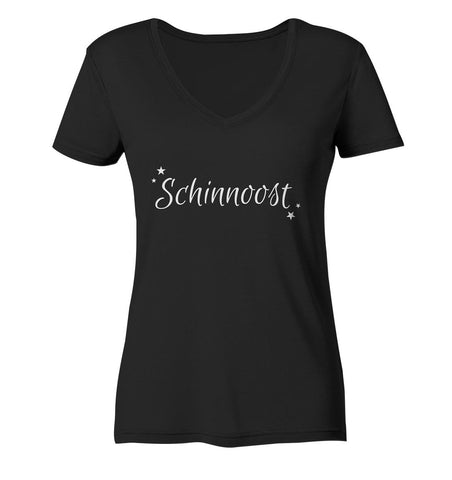 Image of Schinnoost -  Ladies Organic V-Neck Shirt