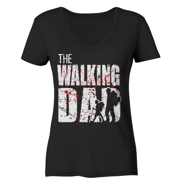 Walking Dead - Ladies Organic V-Neck Shirt