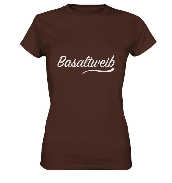 Basaltweib Ladies Premium Shirt