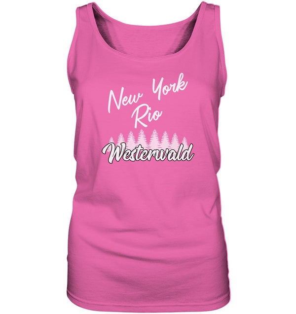 New York, Rio, Westerwald -  Ladies Tank-Top