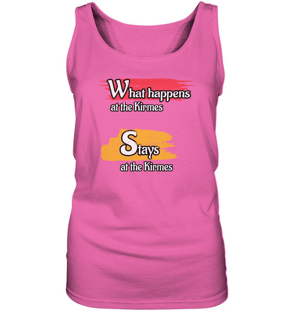 What happens at the Kirmes -  Ladies Tank-Top