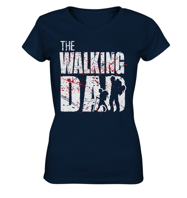 Walking Dead - Ladies V-Neck Shirt