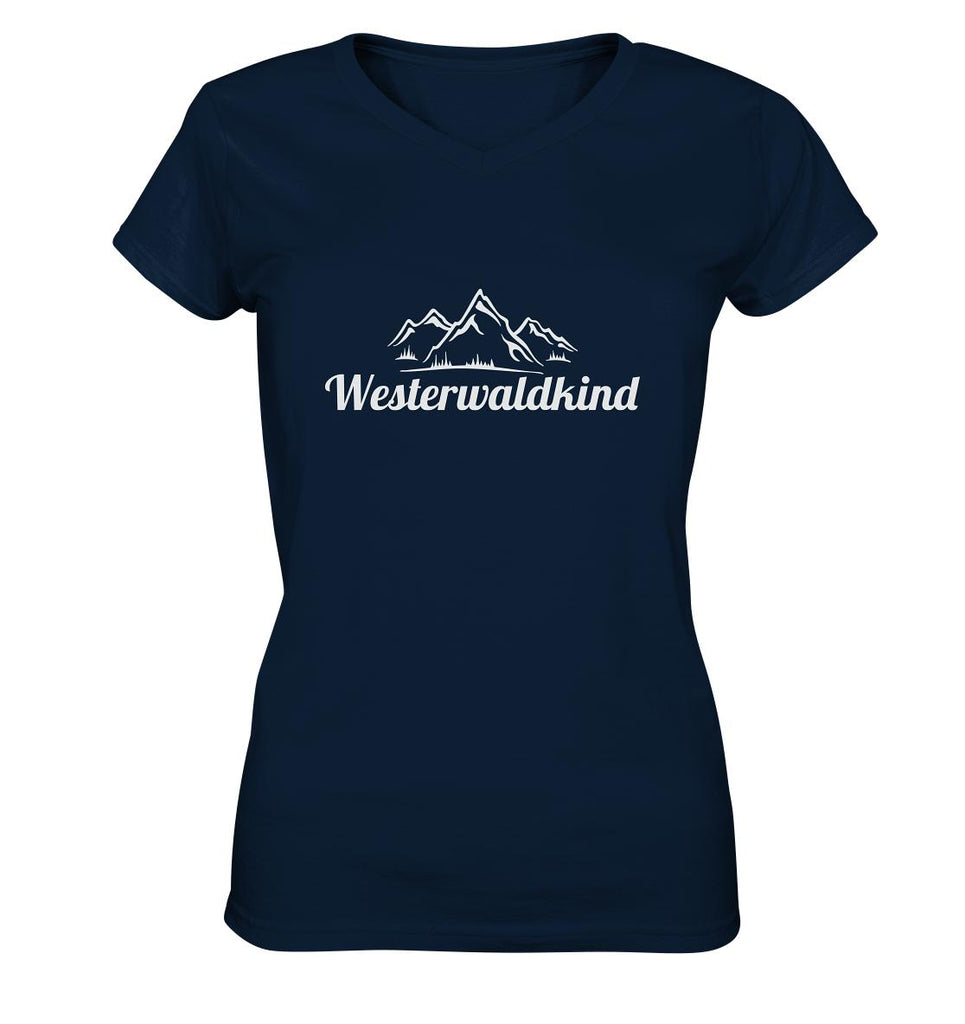 Westerwaldkind -  Ladies V-Neck Shirt