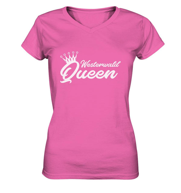 Westerwaldqueen -  Ladies V-Neck Shirt