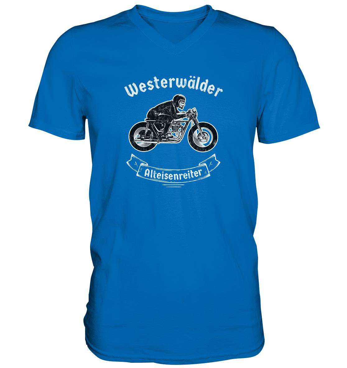 Westerwälder Alteisenreiter-Mens V-Neck Shirt
