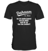 Dahaam is doo wo dir eh kaa Sau zouhiert - Mens V-Neck Shirt