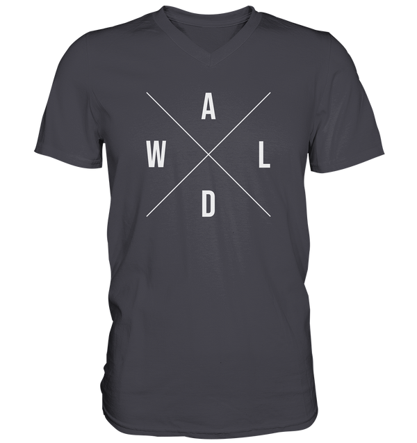 Wald Kreuz - Mens V-Neck Shirt