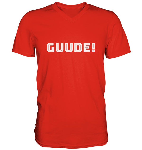 Guude -  Mens V-Neck Shirt