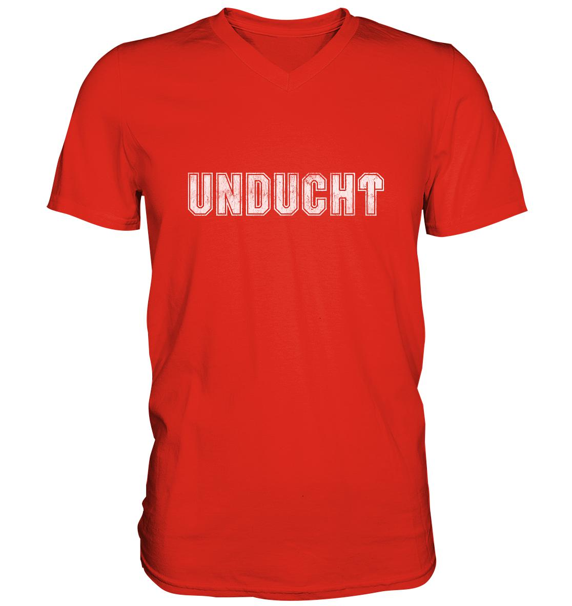 Unducht -  Mens V-Neck Shirt