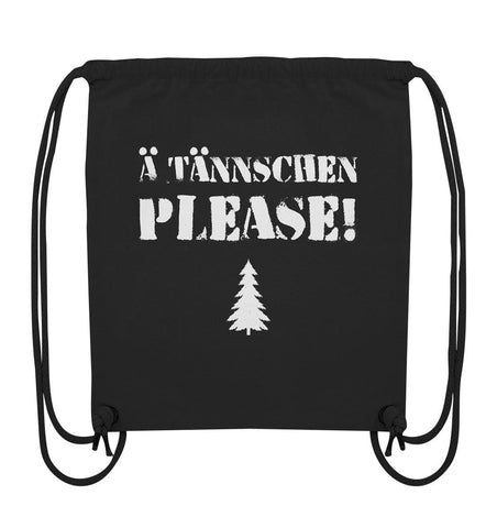 Ä Tännschen please! - Organic Gym-Bag