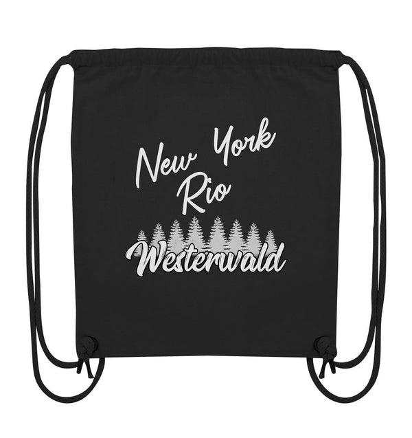 New York, Rio, Westerwald - Organic Gym-Bag
