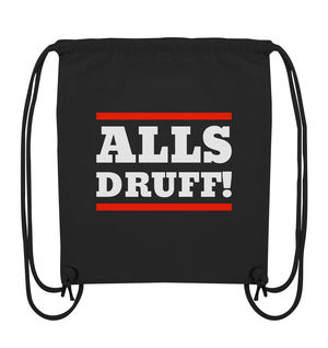 Alls druff! - Organic Gym-Bag