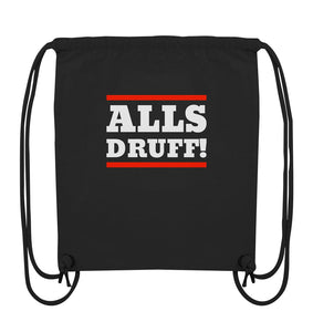 Alls druff! -Organic Gym-Bag