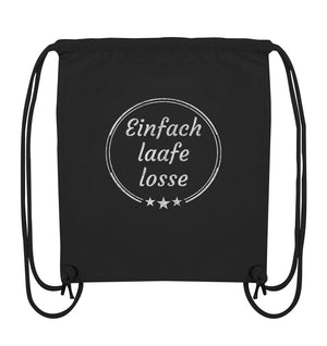 Einfach laafe losse! - Organic Gym-Bag