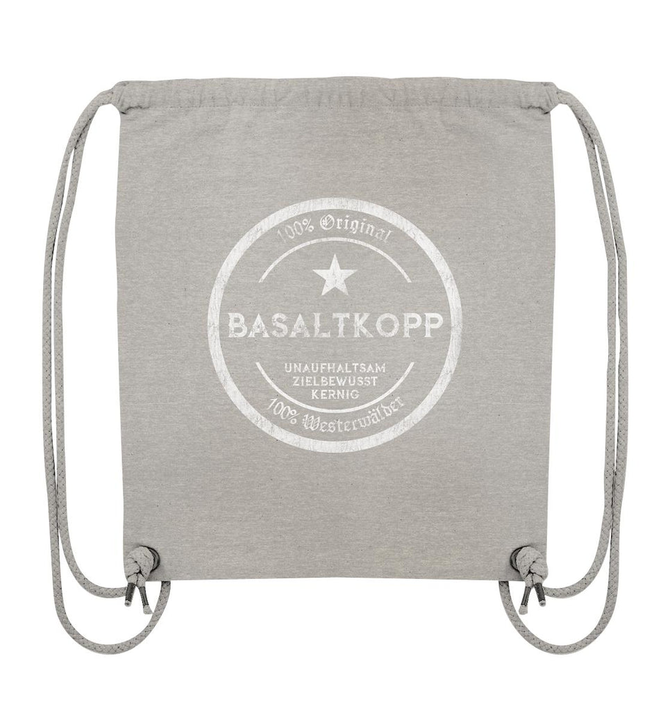 Basaltkopp -  Organic Gym-Bag