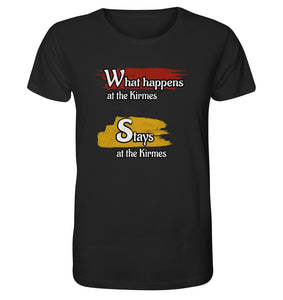 What happens at the Kirmes -  Organic Shirt