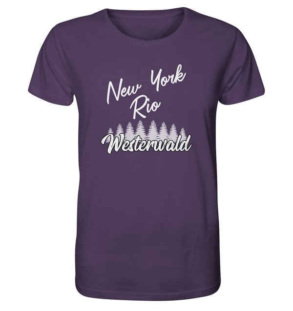 New York, Rio, Westerwald -  Organic Shirt