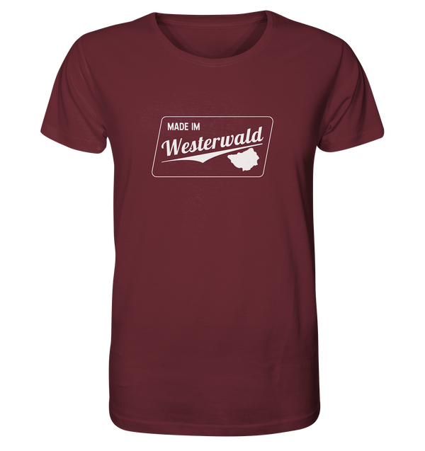 Made im Westerwald - Organic Shirt