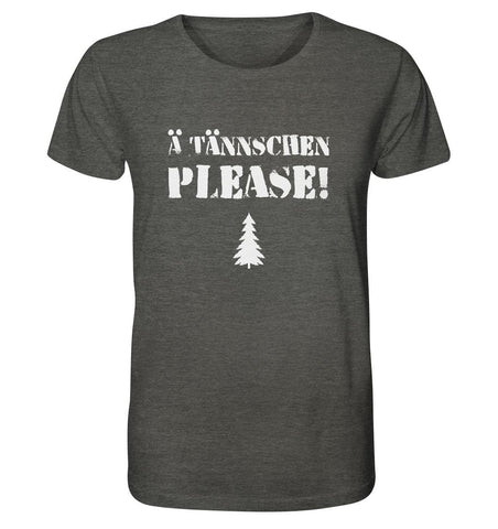Image of A Tännschen please-Organic Shirt (meliert)