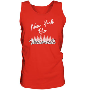 New York, Rio, Westerwald -  Tank-Top