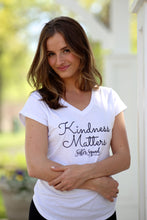 Kindness Matters Triblend T-shirt (available in black and white)
