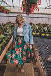 Savannah Floral Skirt