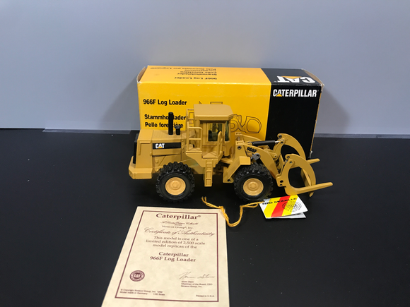 Consignment - NZG Cat 966F Log Loader