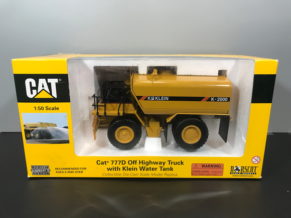 Consignment - Cat 777D Water Truck