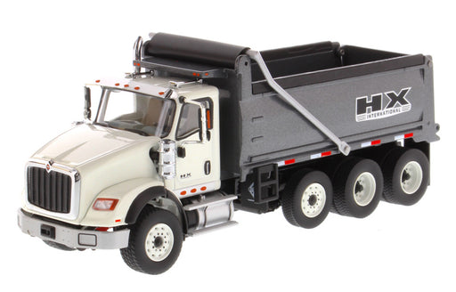 Diecast Masters International HX620 Dump Truck - White