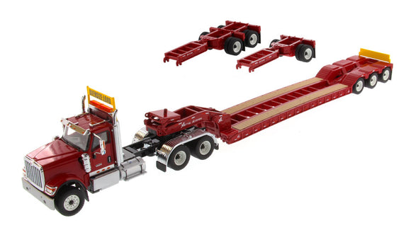 Diecast Masters International HX520 w/ XL Lowboy - Red