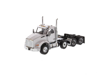 1/50 Scale Kenworth T880 SBFA Day Cab w/ Pusher-Axle - White