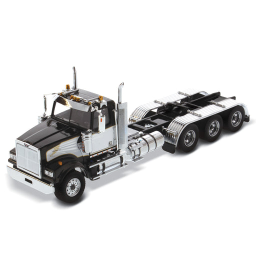 1:50 Western Star 4900 SF Day Cab Tridem Tractor - Black