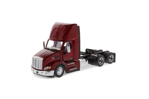 1:50 Peterbilt 579 Day Cab Tractor - Legendary Red