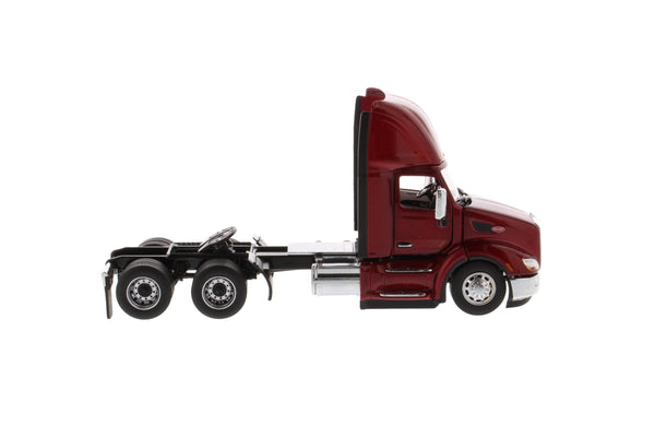 (Pre-order Deposit) 1/50 Scale Peterbilt 579 Day Cab Tractor - Legendary Red