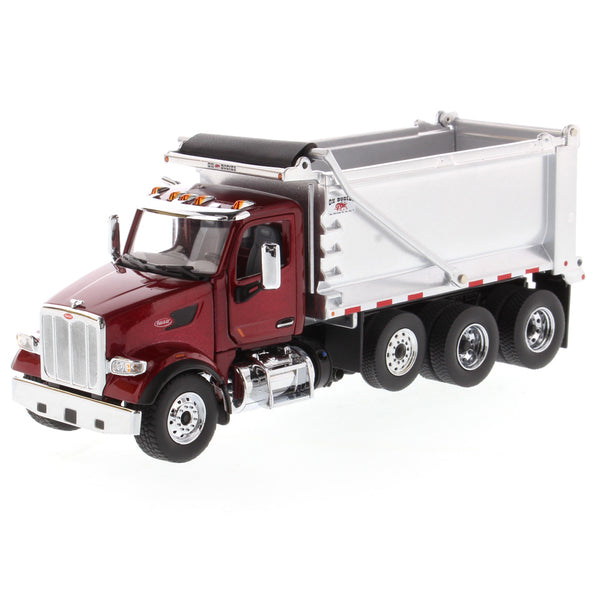 (Pre-order Deposit) 1/50 Scale Peterbilt 567 w/ Ox Bodies Dump Body  - Red