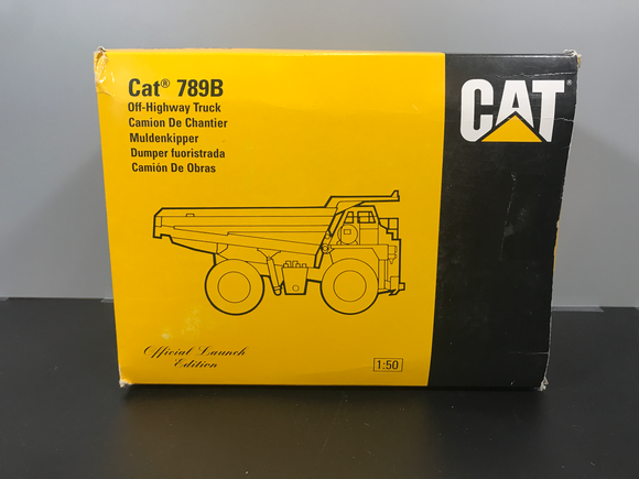 Consignment - Cat 789B Dump Truck