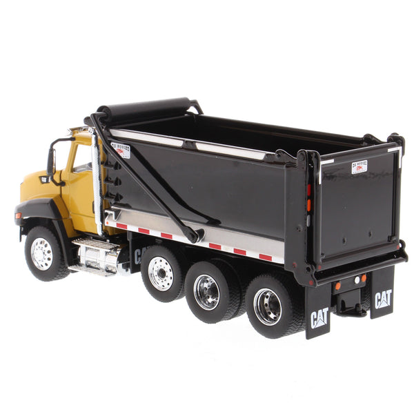 (Pre-order Deposit) 1/50 Scale Cat CT660 w/ Ox Bodies Dump Body  - Cat Yellow