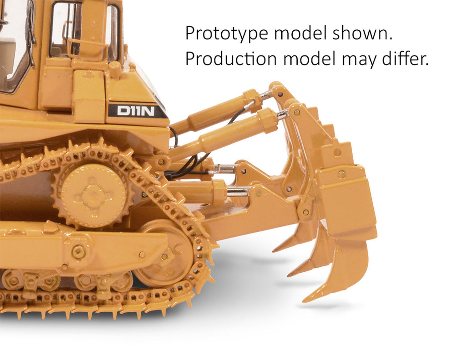 PRE-ORDER | 1:48 Cat® D11N Dozer with U-Blade & Multi-Shank Ripper – Die-cast