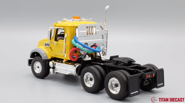 IN STOCK - 1/50 Scale  Mack Granite Day Cab - Yellow
