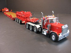 Sword Peterbilt 379 w/ Nelson 3x3x3 Trailer - Assorted Colors