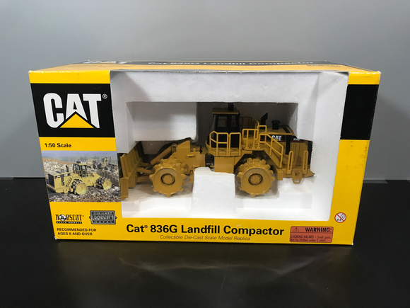 Consignment - Cat 836G Landfill Compactor