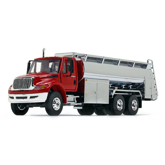 1/50 First Gear International Durastar Fuel Truck - Red